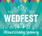 Festival Wedding Stationery