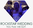 Rockstar Wedding. You Film. We Edit.